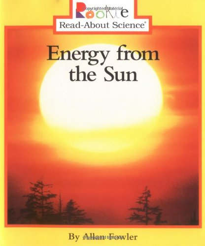 Energy From The Sun  Rookie Read About Science  Paperback