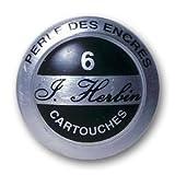 J. Herbin Refills Perle Noir Black Fountain Pen Cartridge - H201-09