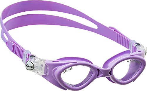 Cressi Silicone Swim Goggles for Kids age 3, 4, 5, 6, 7 | CRAB made in Italy by quality since 1946