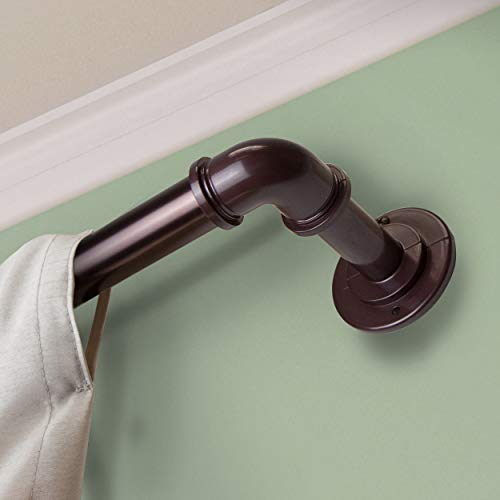 Rod Desyne 1 inch Blackout Curtain Rod, 28-48