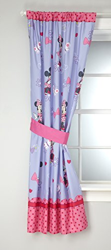 Disney Minnie Mouse Bow Power Window Panel, Purple ()