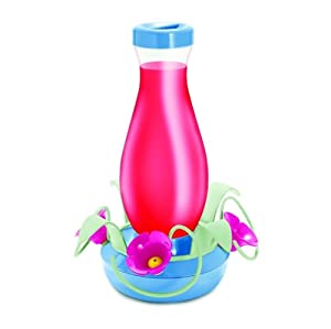 Garden Song 157-3 Carefree EZ Fill 16-ounce Glass Hummingbird Feeder Big Discount