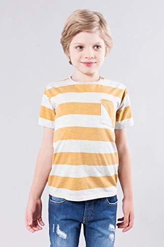 Camiseta Mini Sm Listrao