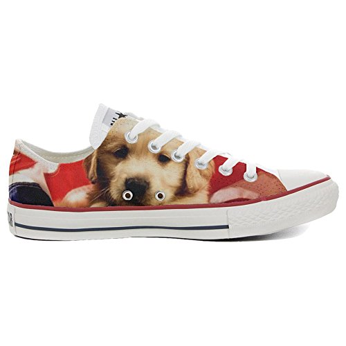 Schuhe personalisierte Handwerk All Low Customized Slim Converse Puppy Star Schuhe CIYXwqHTx