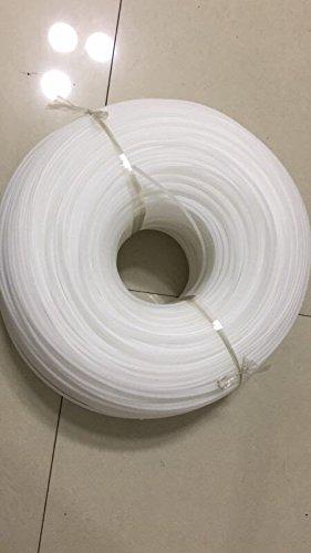 5KG High Density Polyethylene (HDPE) White Welding Rod 1/8'' Dia -.125'' 4mm