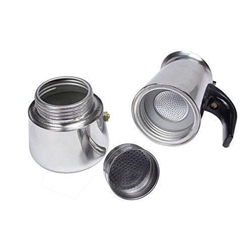 100 Ml Amp 2 Cup Xidajie Stainless Steel Moka Stovetop