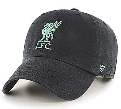 Anfield Shop Liverpool FC '47 Black & Teal Clean Up Cap