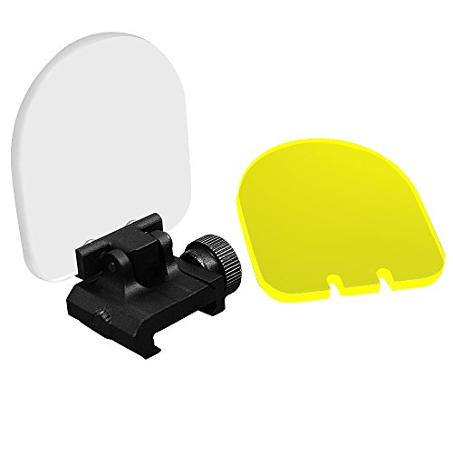 COWEEN Scope Protector White and Yellow Airsoft Lens Protect