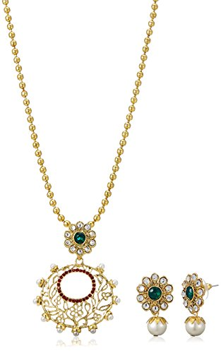 Aheli Jewellery Set for Women (Multi-colour) (A1PSJS18)