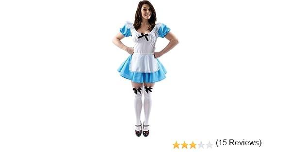 Adult Traditional Alice Costume: Amazon.es: Ropa y accesorios