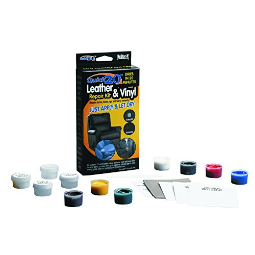 Leather Furniture Repair Kits Reviews: ReStor-it Quick20 Leather/Vinyl Repair Kit, Assorted