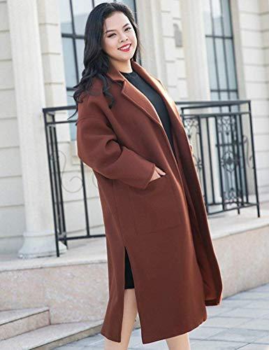Printemps Plus Size Grau Manteaux Coat Mode Plus Chic Trench Size élégant Automne De IAAwF