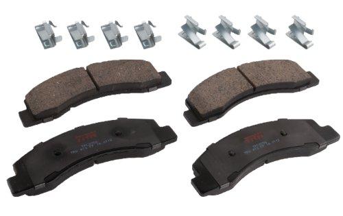 (TRW TPC0756 Premium Front Disc Brake Pad Set)