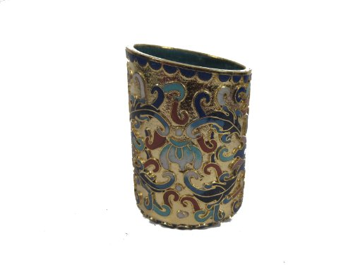 Cloisonne Pen Holder ()