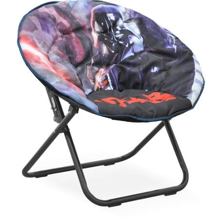 Durable Disney Star Wars Saucer Chair, Darth Vader