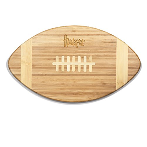 NCAA Nebraska Cornhuskers Touchdown! Bamboo Cutting Board, 16-Inch (Nebraska Cornhuskers Athletics)