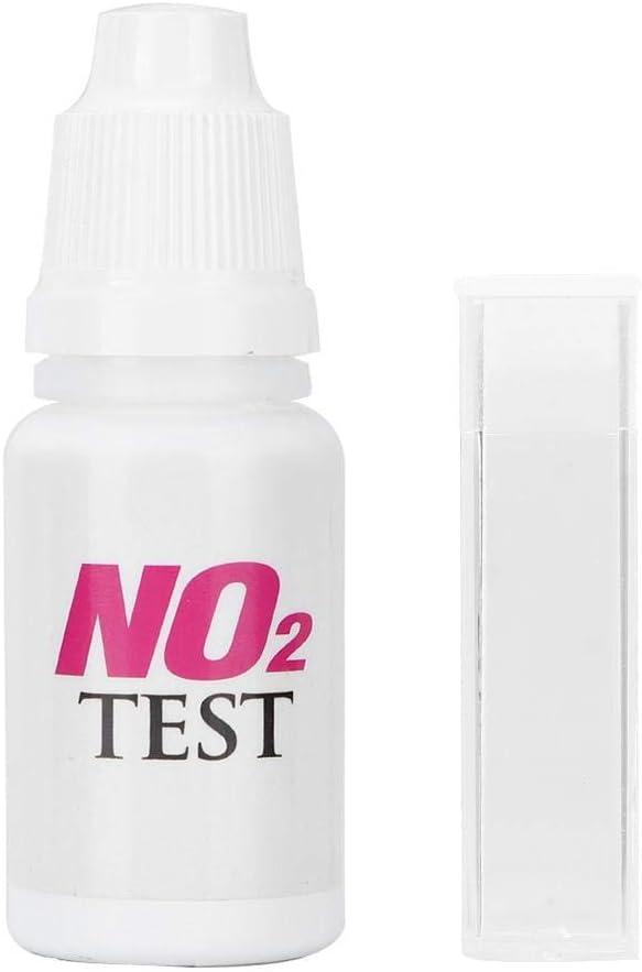 Atyhao Kit di Test per Acquario NO2-nitrito, Kit di Test per nitrito Kit di Test per nitrato di Acqua salata PRO per Acquario qualità Kit di Agente di Test per nitrito NO2 per Acquario 15ml