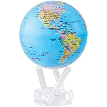 Amazon Com Mova 4 5 Blue With Political Map Globe Industrial
