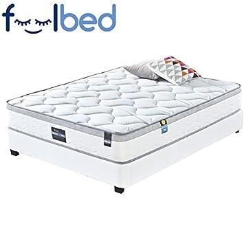 Meubler Design Ultra Confort - Colchón Romance - 160 x 200: Amazon.es: Hogar