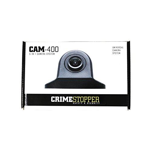 Crime Stopper License Plate Camera - Crimestopper CAM400 HD Marine Grade 4 in 1 Camera with Mount Include