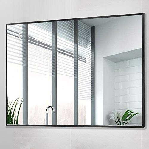 PexFix Wall Mounted Mirrors, Large Rectangle Vanity Mirror, Bathroom Mirror Contemporary Simple -