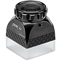 PEAK TS2038 Photographers Large Format Loupe, 4X Magnification, 1.77 x 1.77 Field View