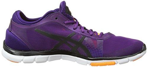 asics Gel-Fit Nova - Multisport Outdoor de sintético mujer púrpura - Purple (Purple/Onyx/Nectarine 3399)