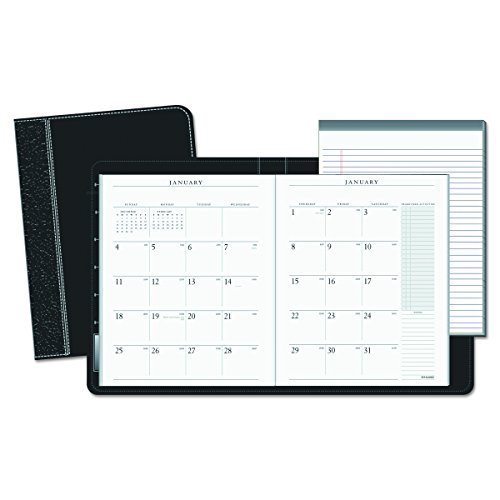 (AT-A-GLANCE 7029005 Executive Monthly Padfolio, 9 x 11, White, 2016-2017)