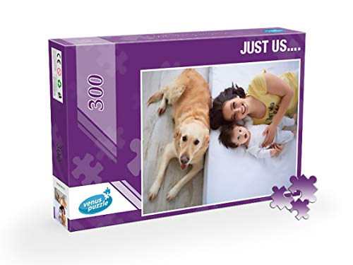 Custom Photo Puzzle, Personalized Photo Puzzle 300 Pieces, Photo Jigsaw Puzzle from Your own Image ()