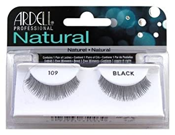 788b0d72d22 Amazon.com : Ardell Natural Lashes, Black [109] 1 pair (Pack of 6) : Beauty