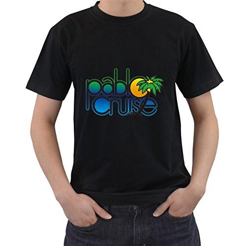 - Rare Stepbrothers Pablo Cruise Logo T-Shirt Short Sleeve Black Size XL