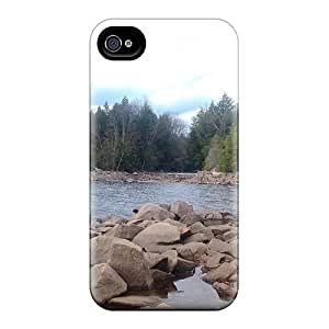 Phone Case Case Cover Iphone 4/4s Protective Case ; Low Waters ;