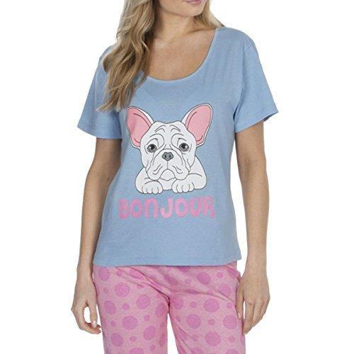 Forever Dreaming Pijama - para mujer Azul Bulldog 34b1056 L