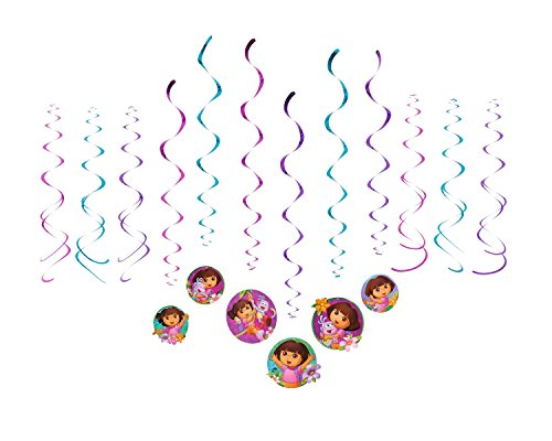 American Greetings Dora The Explorer Hanging Party Decorations Party