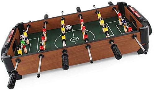 AK Mini madera de mesa Fútbol Foosball familia divertido juego de 6 filas tabla de la diversión, juego de fútbol Incluye 18 hombres, 2 pelotas, 2 Goleadores: Amazon.es: Bricolaje y herramientas