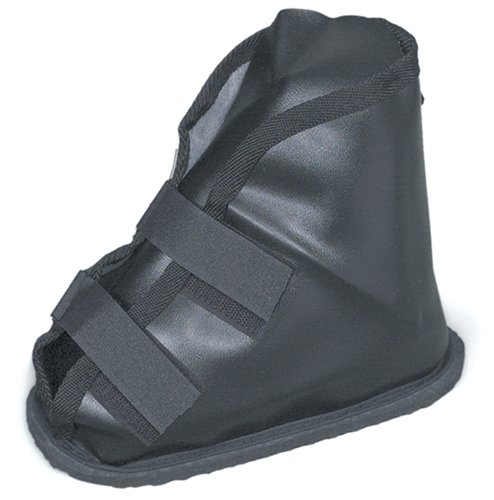 Duro-Med Vinyl Cast Boot, Designed for Maximum Protection, Comfortable Foam Insole, Washable, Black, Small