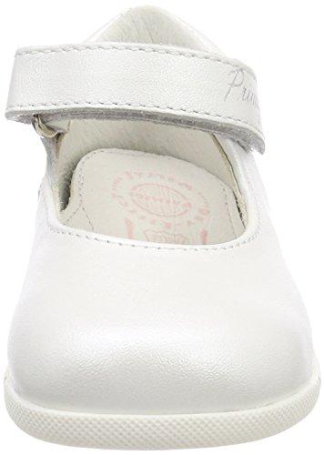 Primigi PPB 14024, Bailarinas con Punta Cerrada Para Niñas Bianco