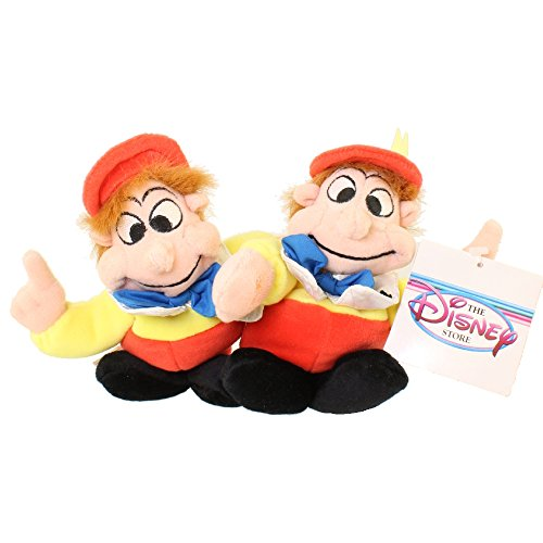 Tweedle Dee and Tweedle Dum Mini Bean Bag Plush -