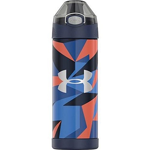 Under Armour Beyond 16 Ounce Vacuum Insulated Stainless Steel Bottle, Geo Cache Black