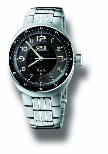 Oris Men's 635 7589 7064MB TT3 Automatic Titanium (Day Date Automatic Titanium Watch)
