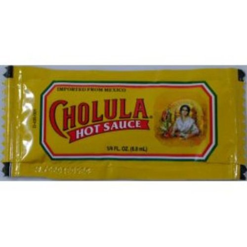 Cholula Hot Sauce Packet - Bundle of 50 (Candy Packets)