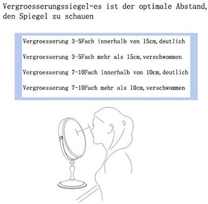 JL32 Wundersch/öne Kosmetikspiegel Normal+7Fach