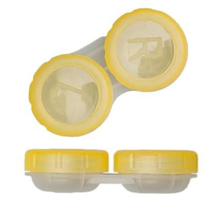 TOP Estuche para lentillas contenedor de almacenaje lentes ...
