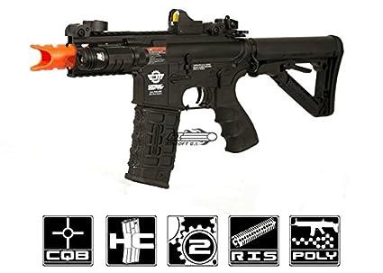 Amazon.com: G & g Máquina de combate M4 RIS CQB Fire Hawk ...