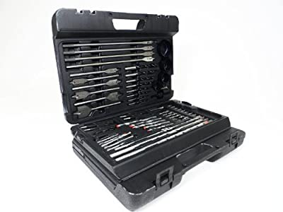 Complete Wood Working Drill Bit Set Professional Combination of Most Common Dril Bits (204 Piece Kit)