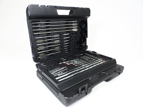 Complete Wood Working Drill Bit Set Professional Combination of Most Common Dril Bits (204 Piece Kit) by EZ Travel Collection