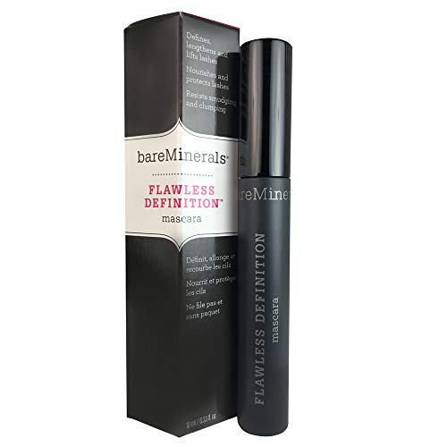 - bareMinerals Flawless Definition Mascara, Black, 0.33 Fluid Ounce