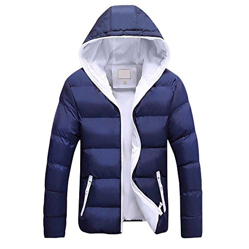 Moserian Men Autumn Winter New Cotton Coat Jacket Wind Hooded Thick Cotton Clothing for $<!--$42.88-->