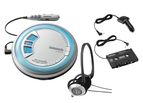 Panasonic SL-SX431C Portable CD Player with Car Kit