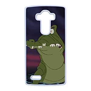 LG G4 Phone Case White Peter Pan The Crocodile (Tick Tock) NMH8435009